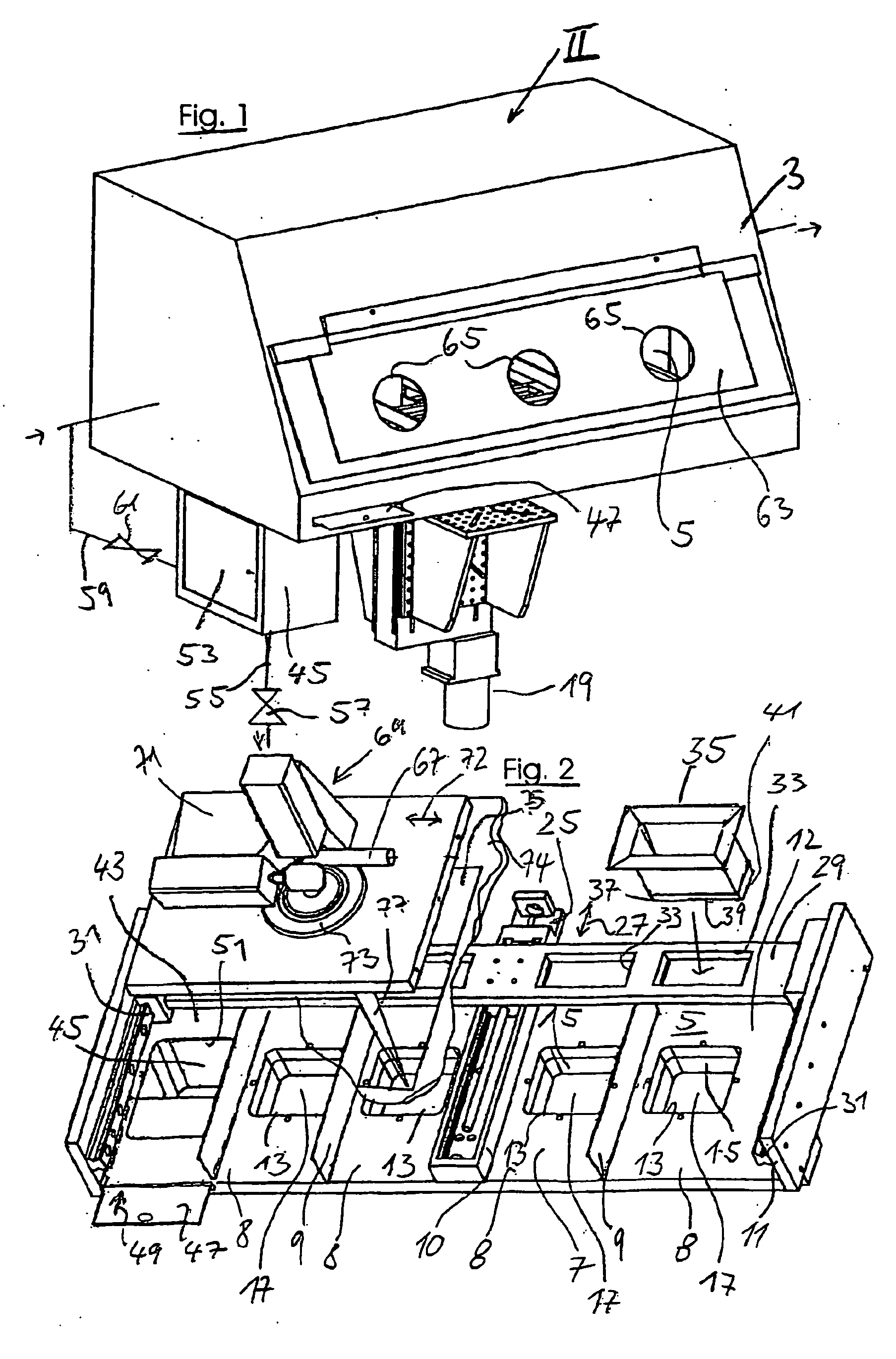 Patent drawing slm machine from 1995