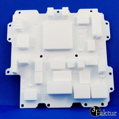 Laser Sintering - PA12 PA2200 - Example Mock-up part