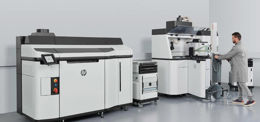 HP Jet Fusion 5210 Anlage