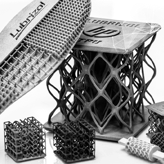 Multi Jet Fusion TPU Lattice Structure